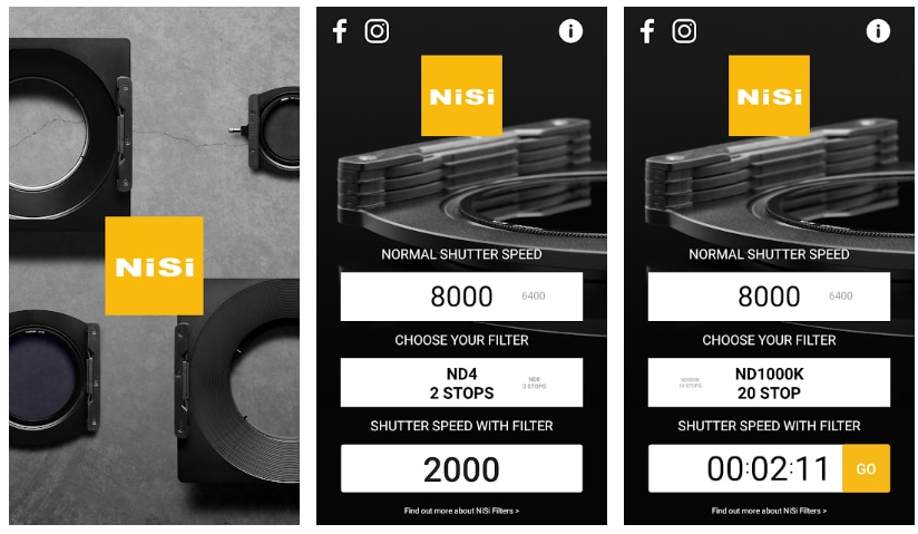 apps útiles fotografía nisi filters exposure