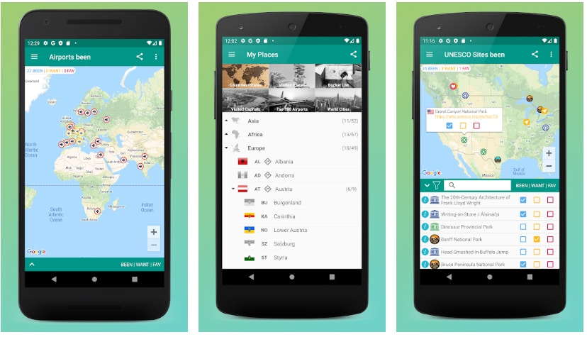 places been apps útiles viajar europa