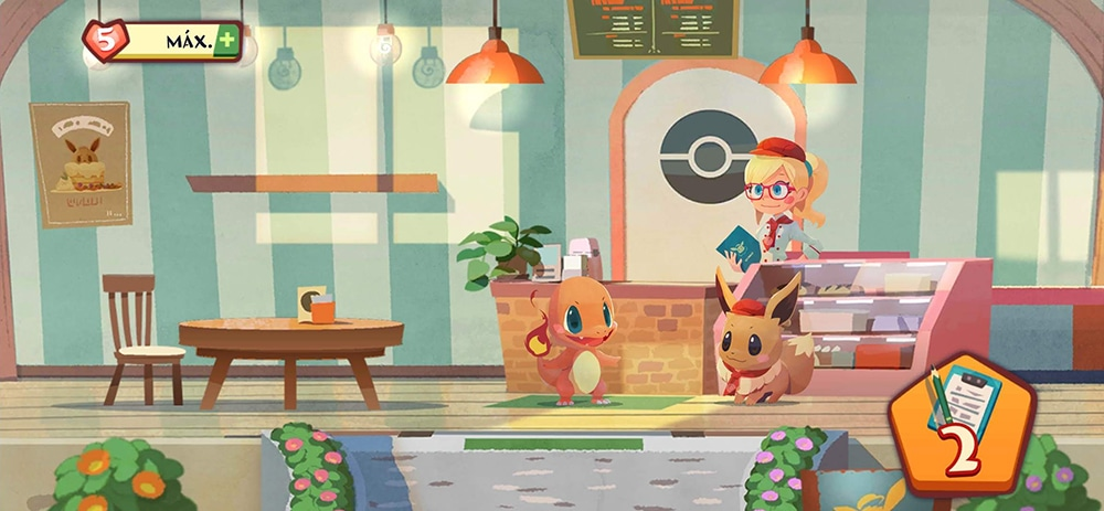 Pokémon Café Mix comandas