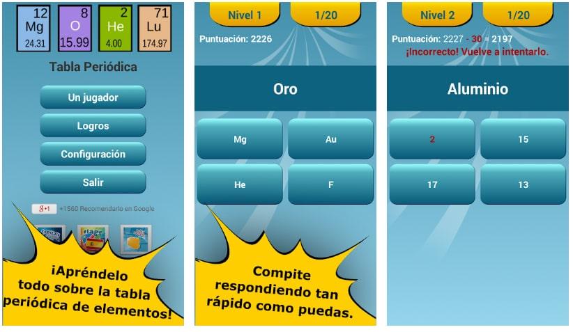 quiz tabla periódica