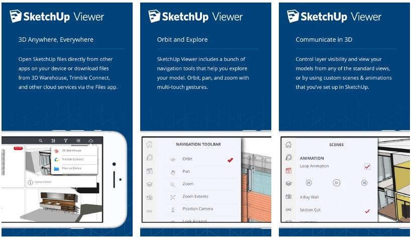 apps decorar la casa sketch up