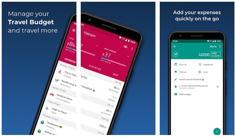 travel spend apps útiles viajar europa