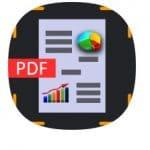 Icono de PDF escáner cam