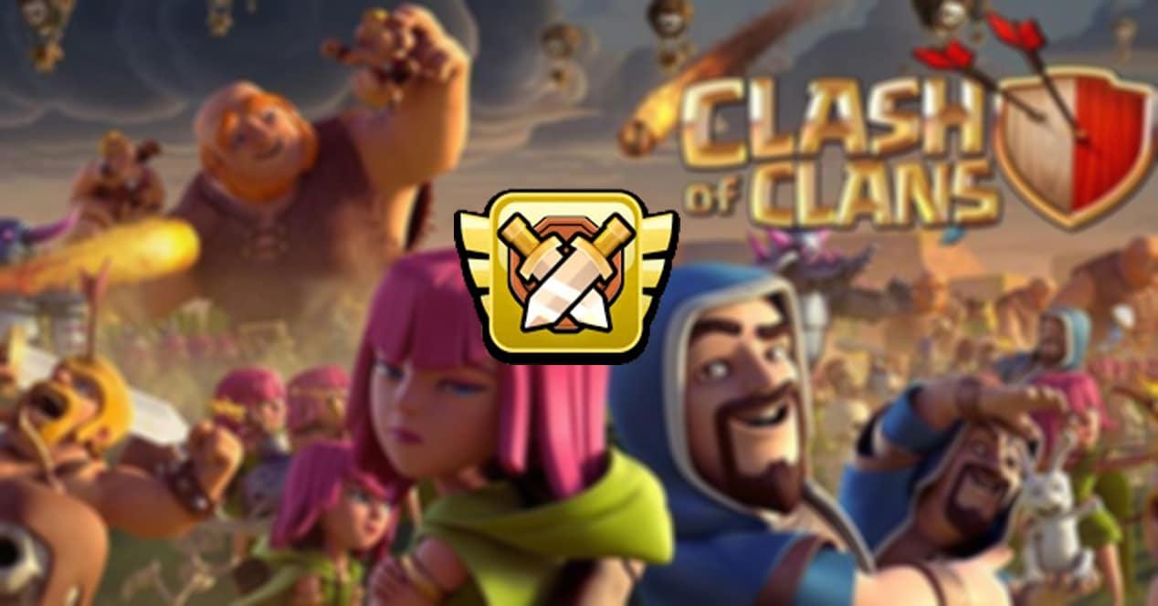 cómo ganar medallas de liga clash of clans