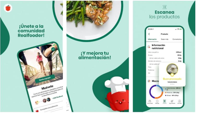 my real food apps para crear recetas