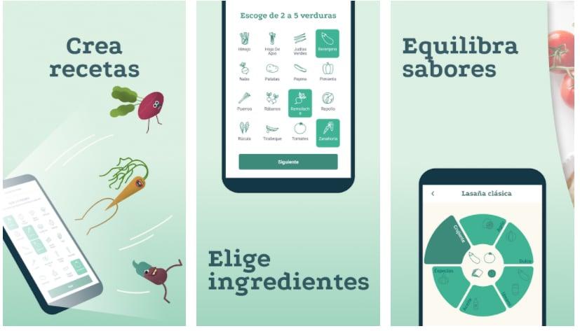 plantjammer apps para crear recetas
