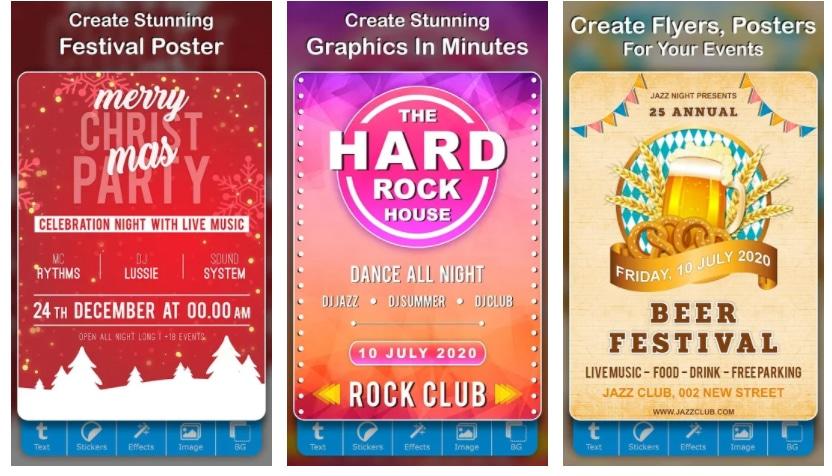 poster maker creative art apps para hacer carteles