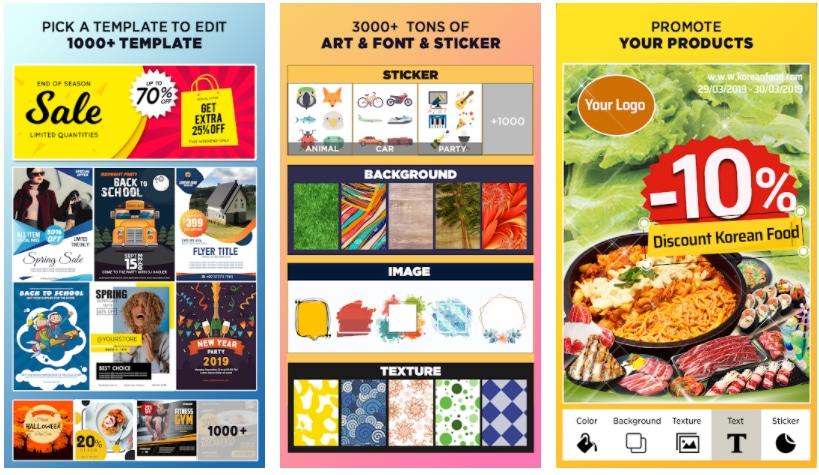poster maker apps para hacer carteles