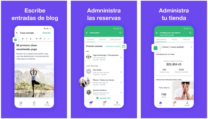wix apps útiles para negocios