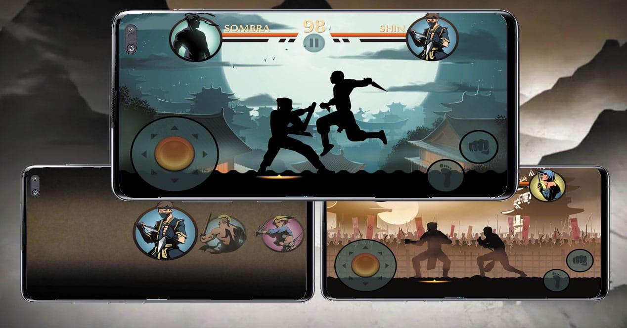 pantallas juego Shadow Fight 2