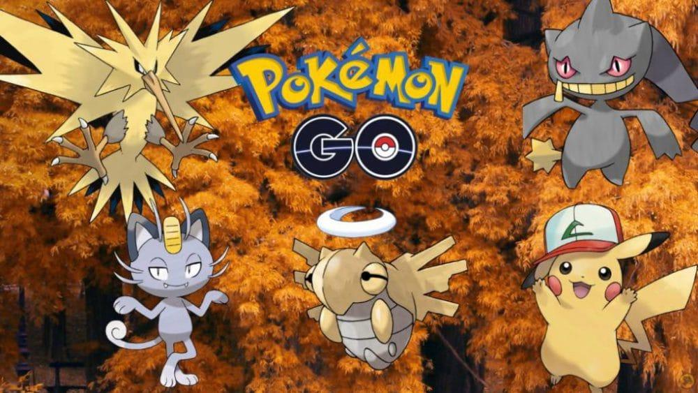 eventos octubre pokémon go legendarios
