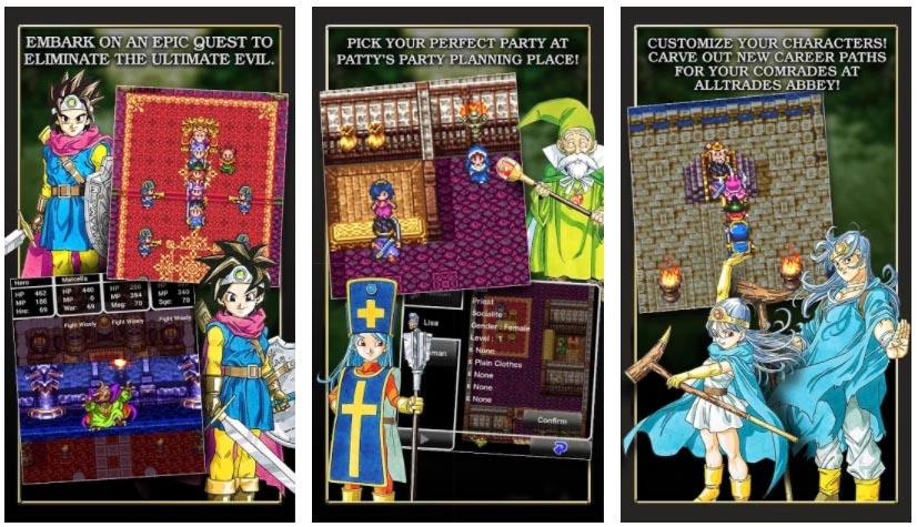 juegos de dragon quest 3