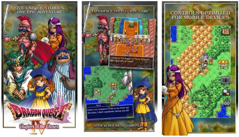 juegos de dragon quest 4