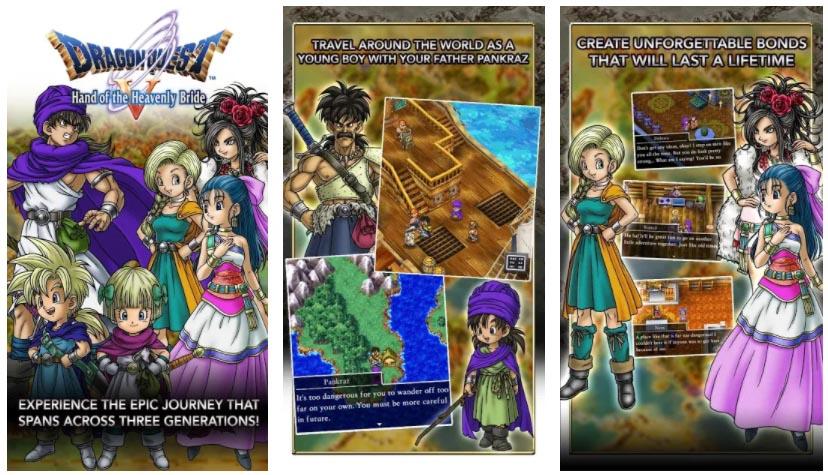 juegos de dragon quest 5