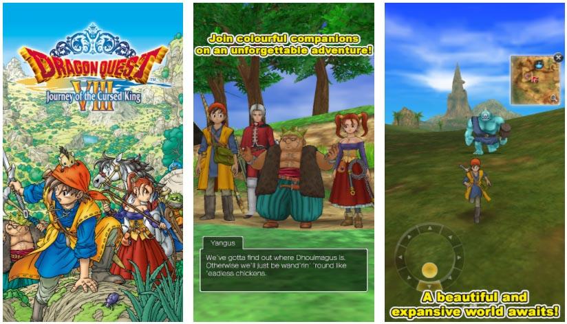 juegos de dragon quest 8
