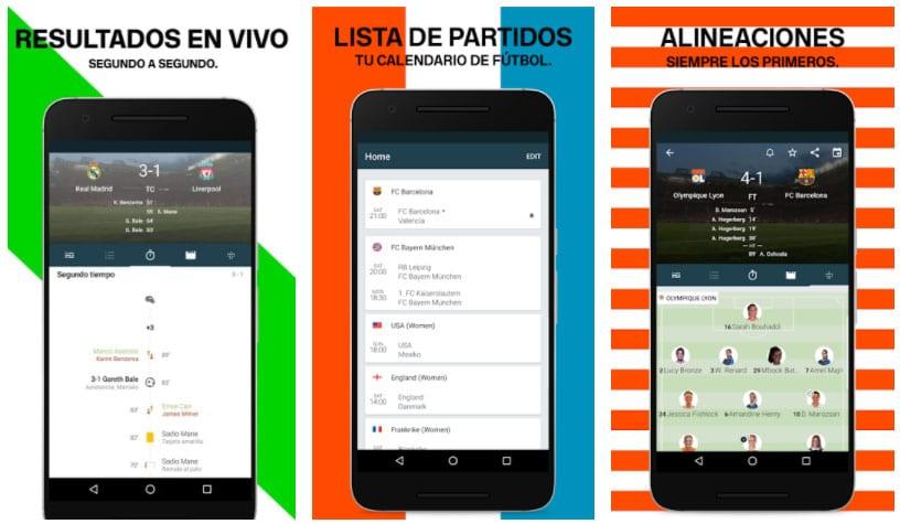 forza football apps de fútbol