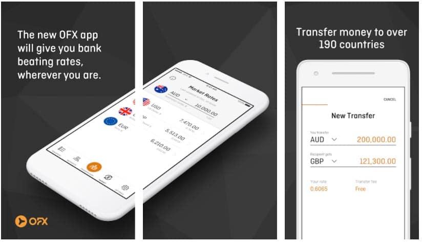 ofx money transfer apps para enviar dinero