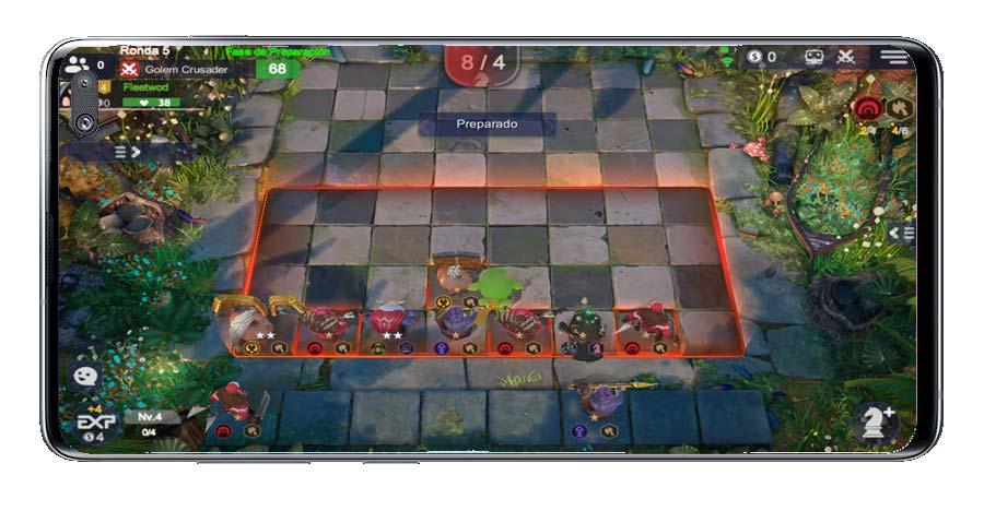 Colocar unidades en Auto Chess