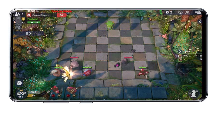 Efectos golpes en Auto Chess