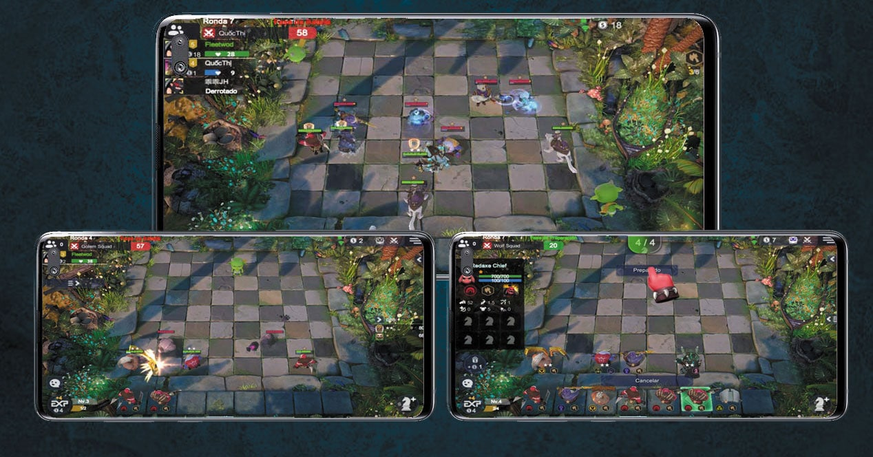 Juego Android Auto Chess