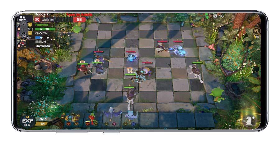 Partida en el juego Auto Chess