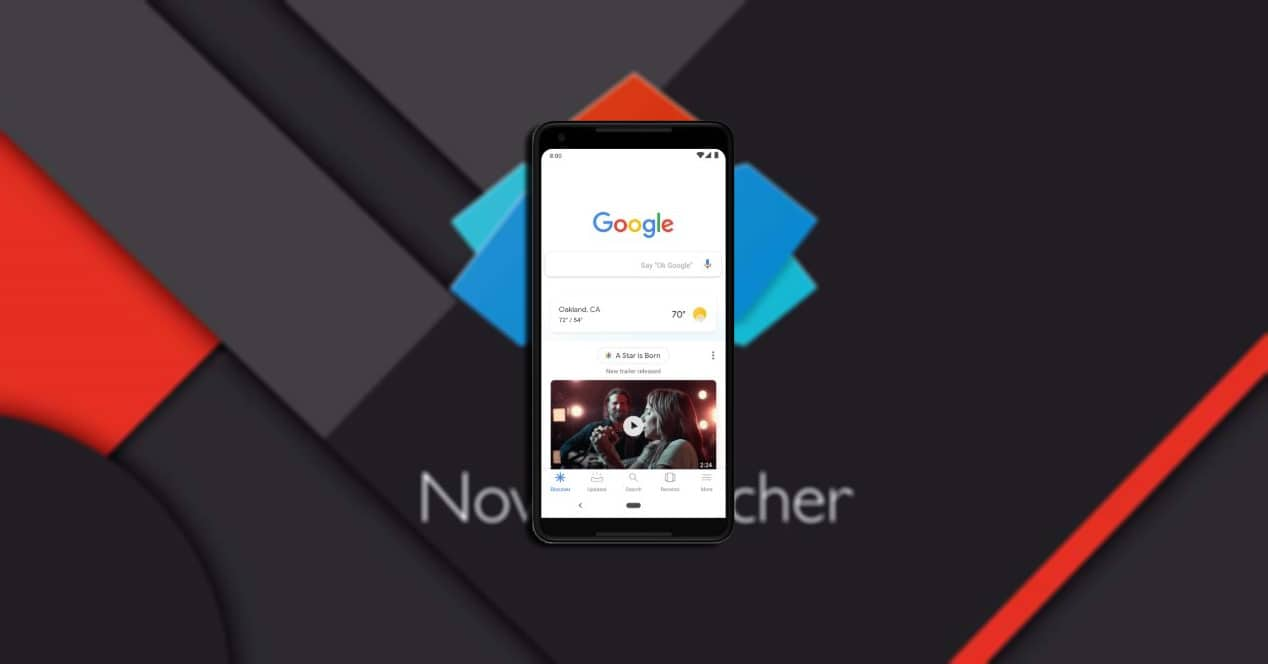 google discover nova launcher