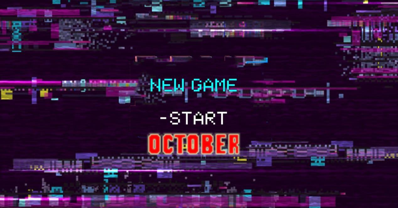 nuevos juegos octubre