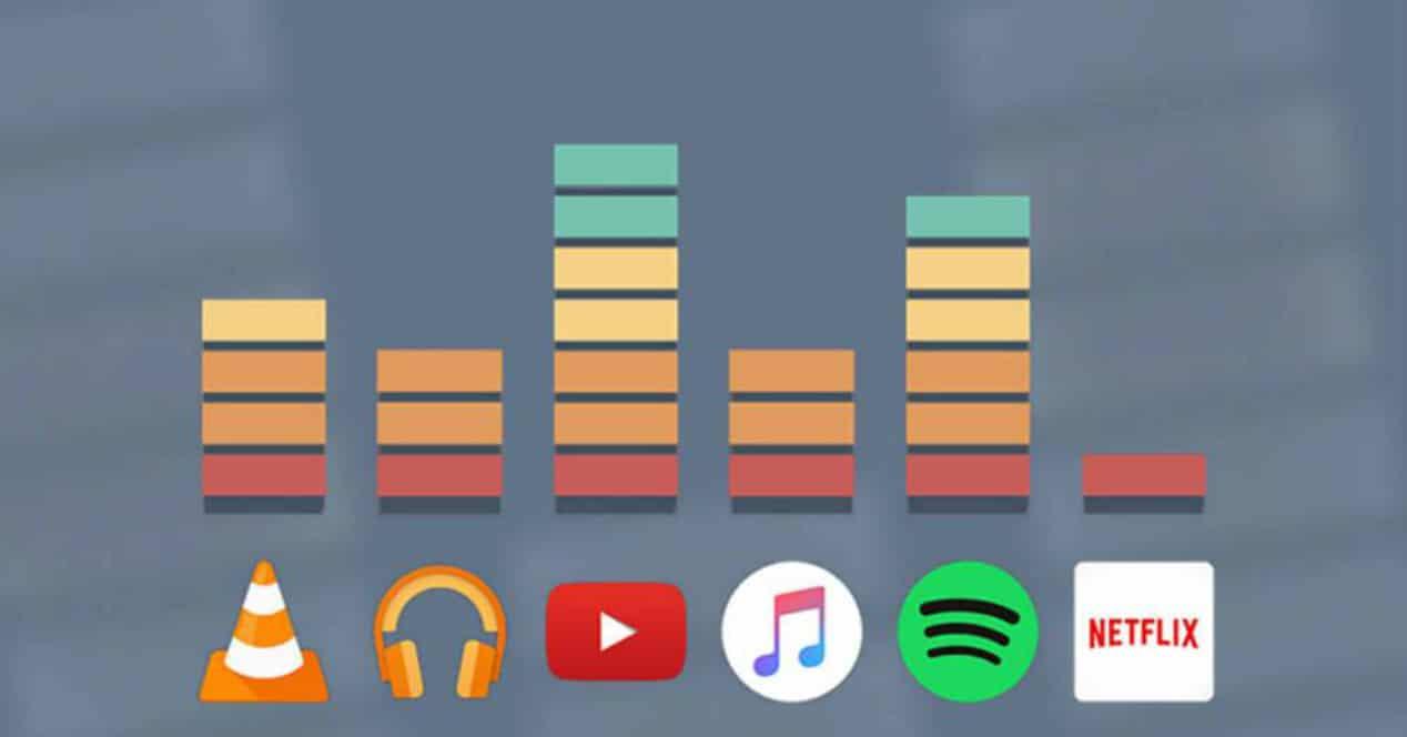 apps controlar volumen