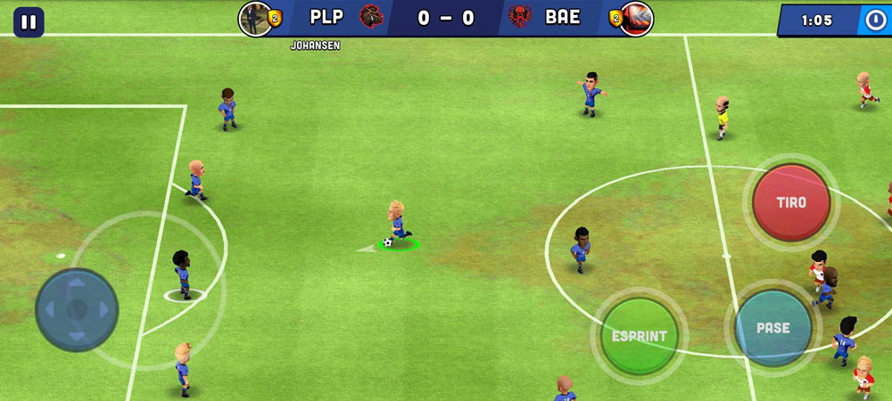 mini football partido