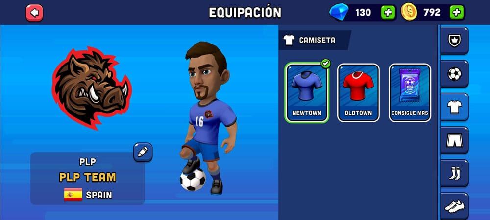 mini football personalización