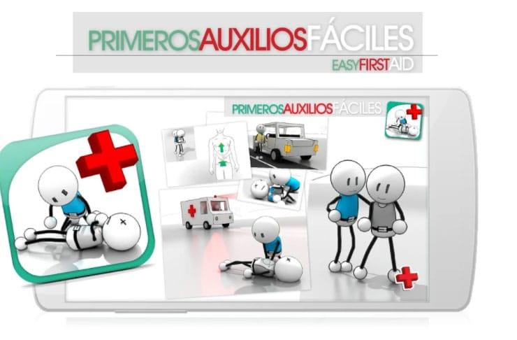primeros auxilios apps incendios