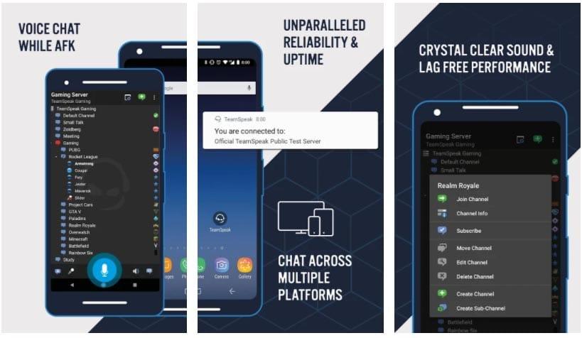 teamspeak apps para hablar en juegos online