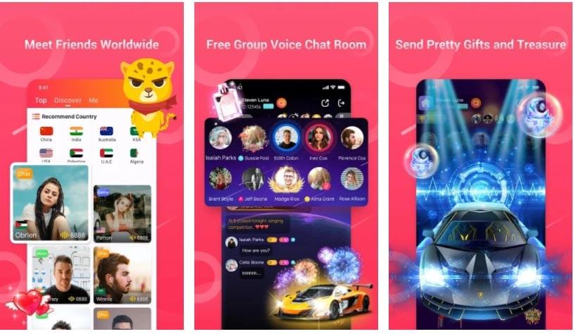 vochat apps para hablar en juegos online