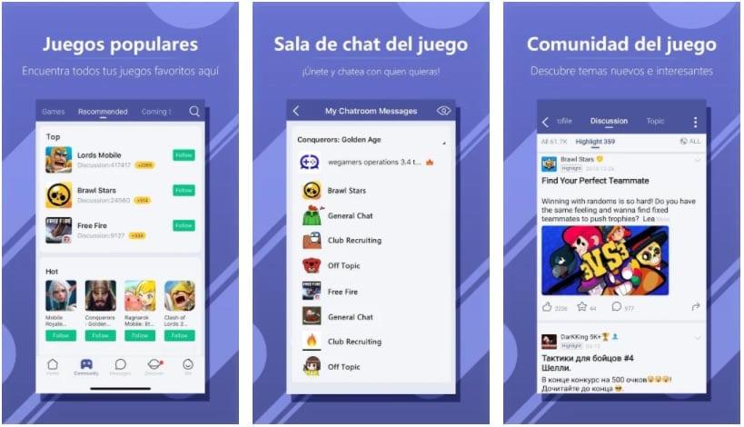 wegamers apps para hablar en juegos online