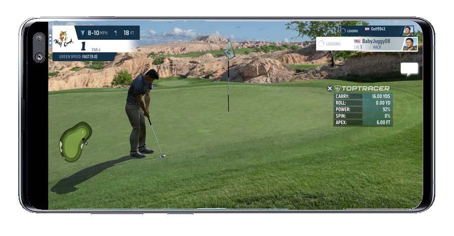 Partida en WGT Golf
