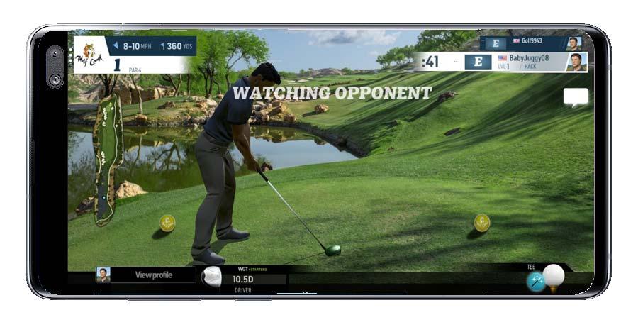 Viendo a oponente WGT Golf