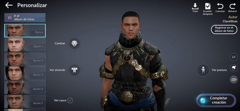black desert personaje