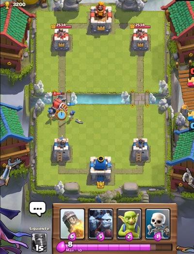 counter clash royale guardias