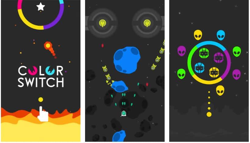 color switch juegos de reflejos
