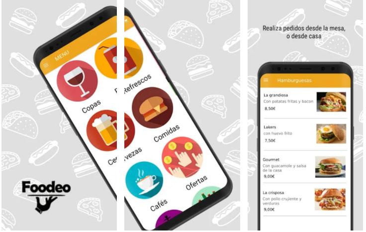foodeo apps útiles restaurante