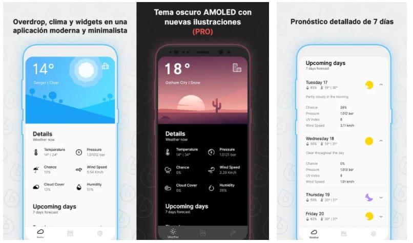 overdrop widgets android