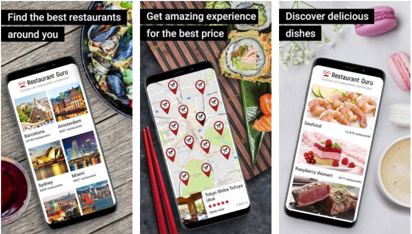 restaurant guru apps útiles restaurante