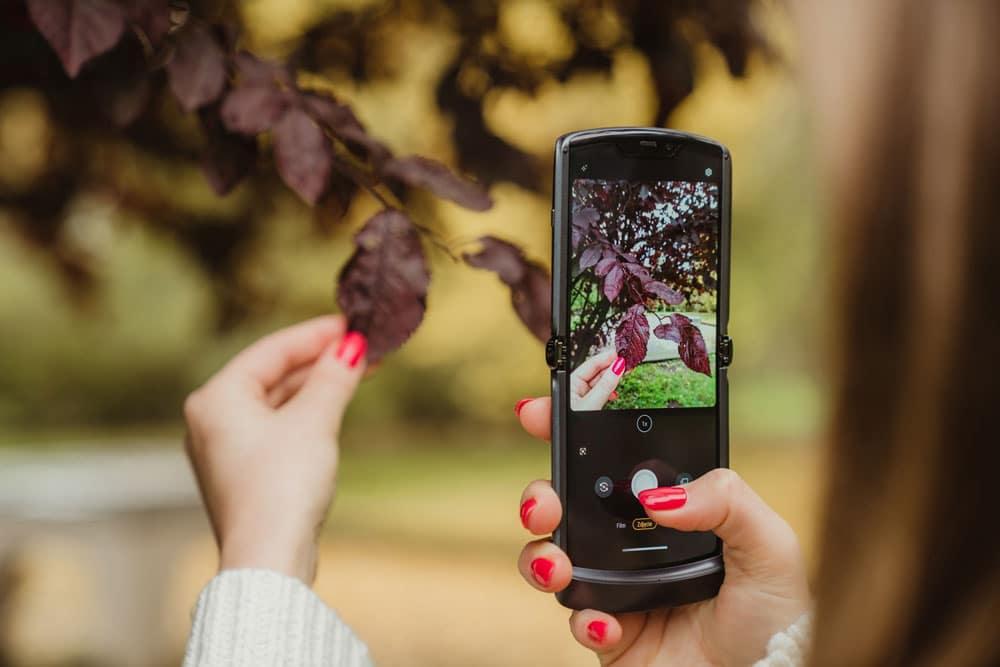 actualización app cámara fotografía