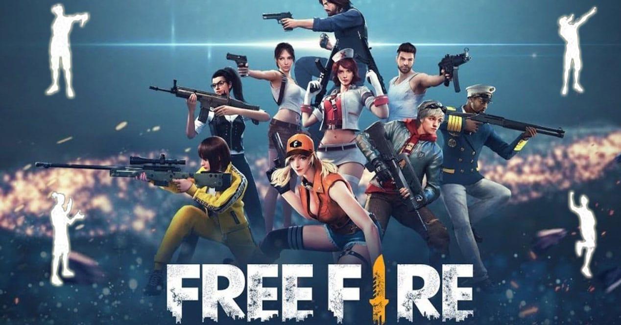 emotes free fire