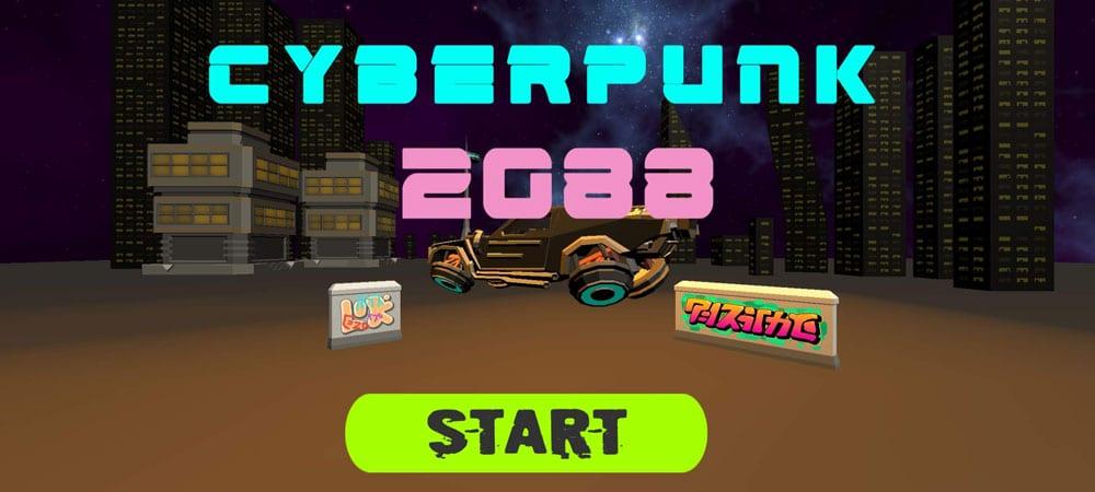 cyberpunk 2088 inicio