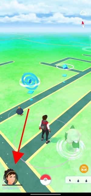 avatar pokémon go