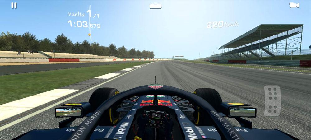 real racing 3 gráficos