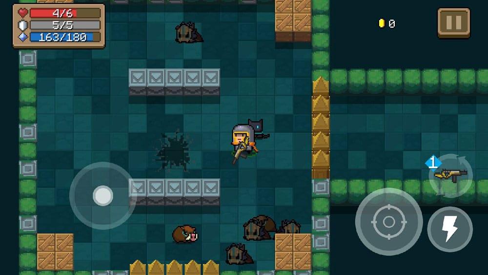 soul knight matar enemigos farmear