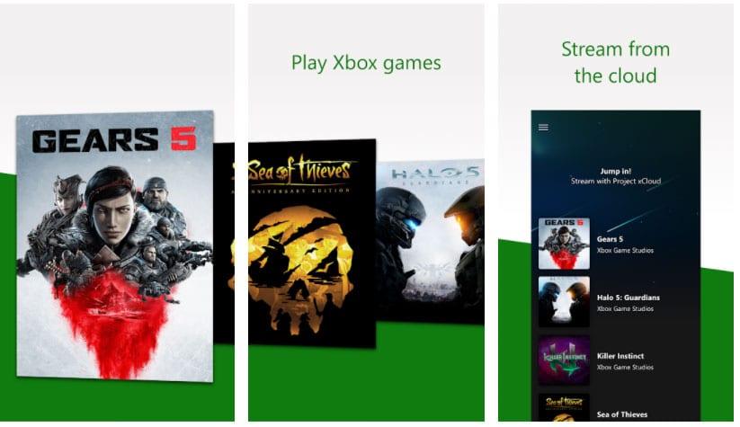 xbox game streaming apps para xbox