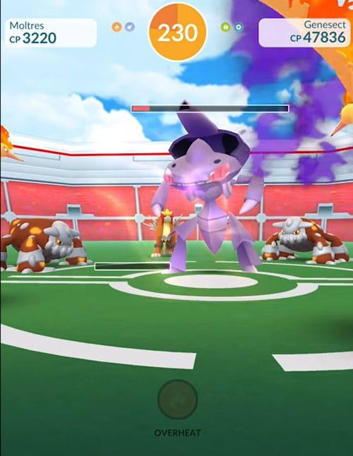 capturar genesect pokémon go